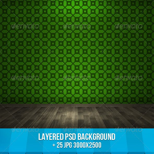 Room PSD Background