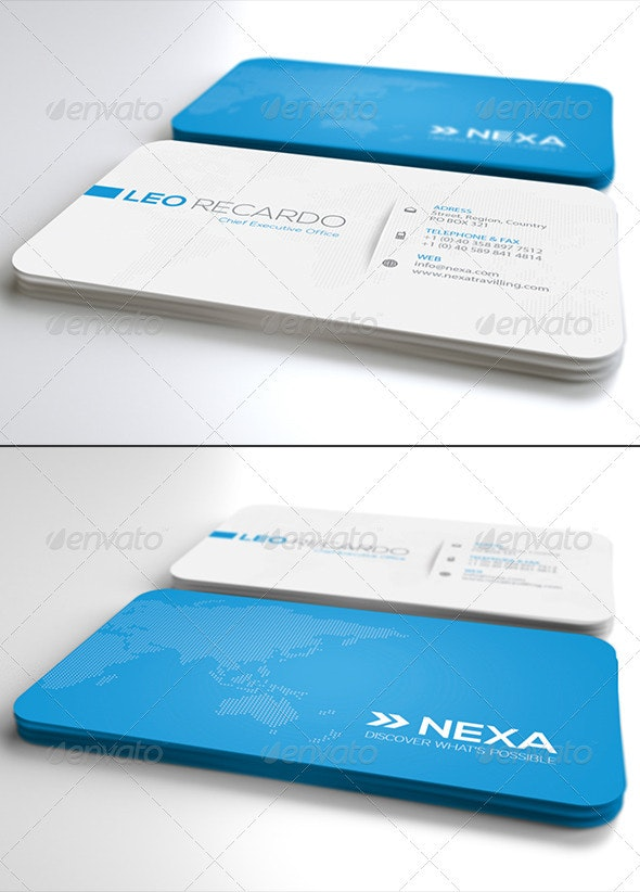 Global Business Card Ver. 2.0 - Corporate Business Cards