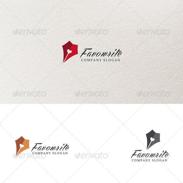 Favowrite - Logo Template