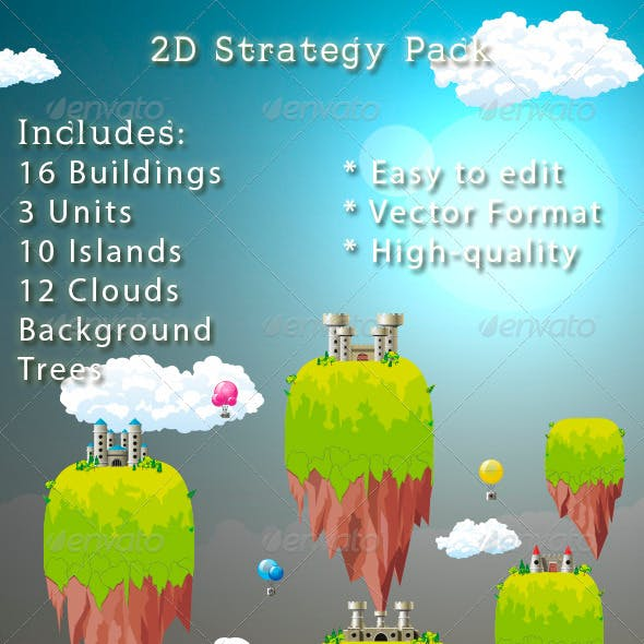 2D Strategy Game Graphics Pack