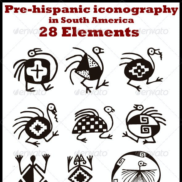 Pre-hispanic Iconography in South-America