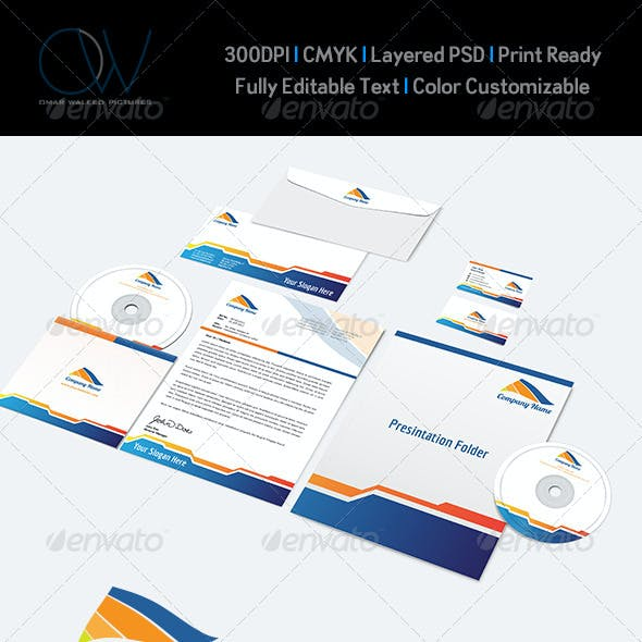 Corporate Stationery Pack Vol.4