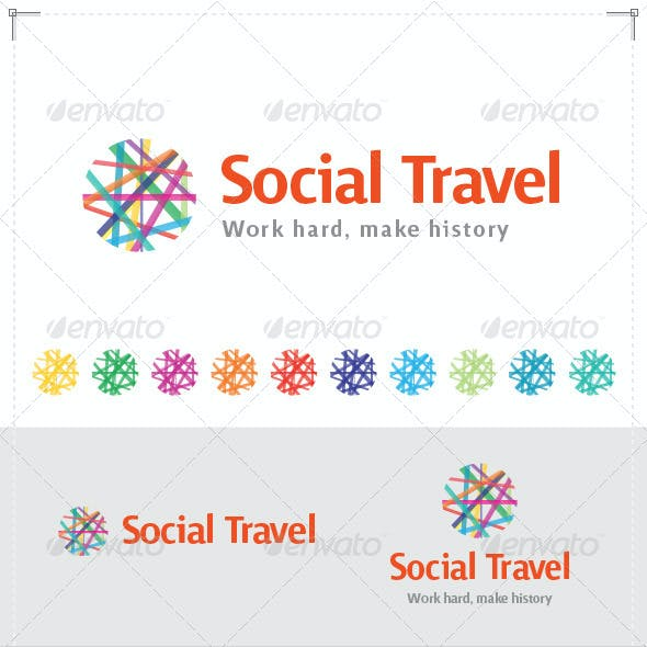 Social Travel Logo