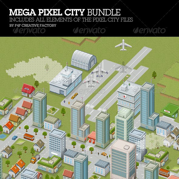 Mega Pixel City Bundle