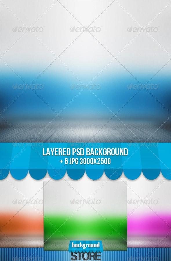 Spotlight Interior Background - 3D Backgrounds