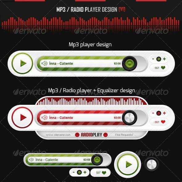MP3 - Radio Player Design v1