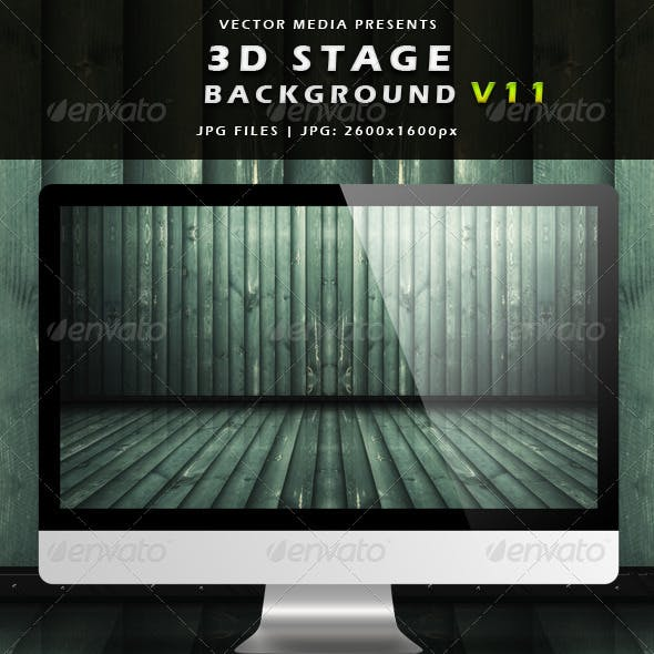 3D Stage Background - Vol.11