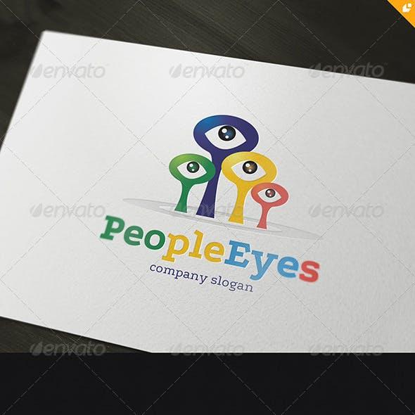 People Eyes Logo