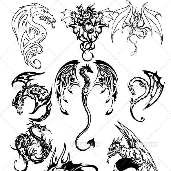 Dragon Tattoo Pack 2