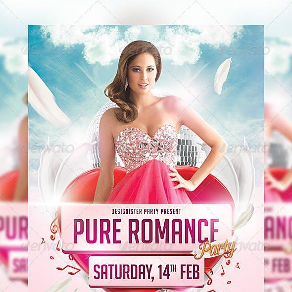 Pure Romance Party Flyer