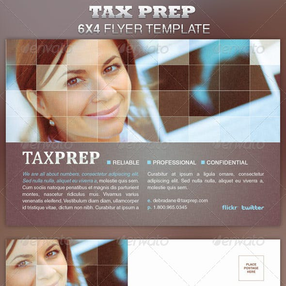 Tax Preparation Flyers Graphics Designs Templates