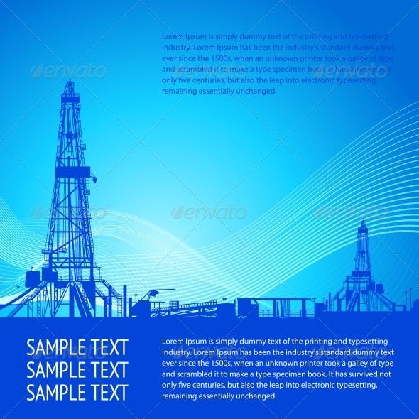 Industrial Banner For Your Text
