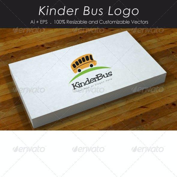 Kinder Bus Logo