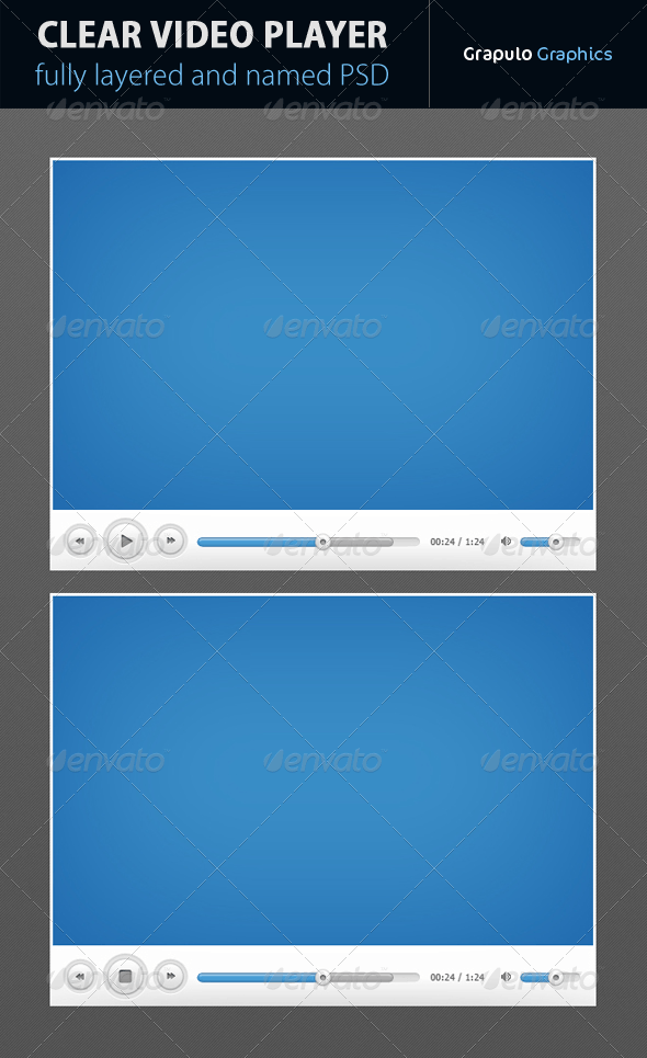 Clear Video Player - Miscellaneous Web Elements
