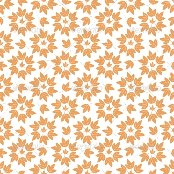 Seamless Background Leaves - Patterns Decorative
