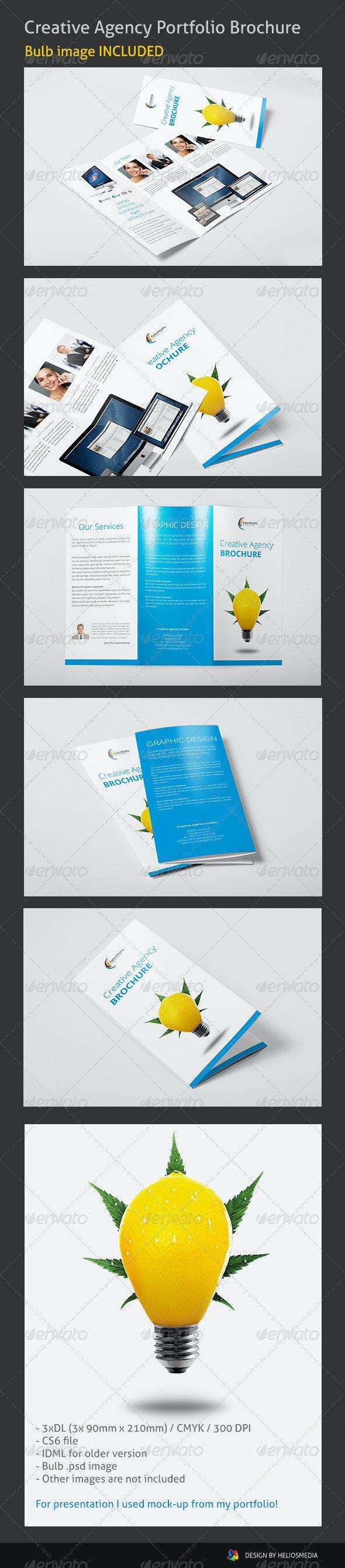 Tri-Fold Creative Agency Brochure - Corporate Brochures