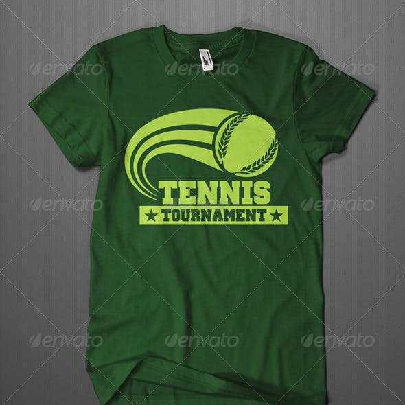 Tennis Tournament T-Shirt
