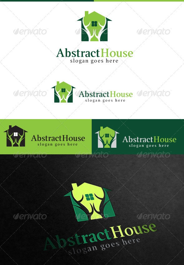 Abstract House - Buildings Logo Templates