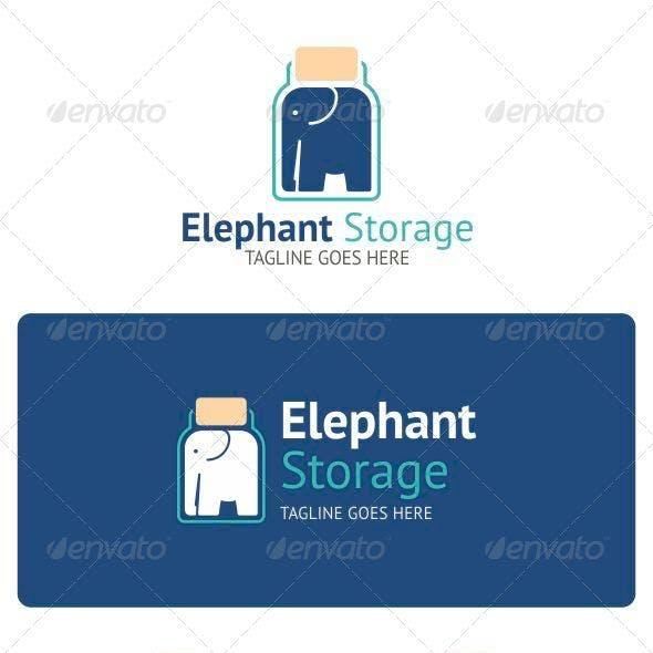 Elephant Storage Logo
