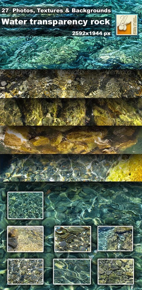 Photo Textures Water Transparency Rock - Textures
