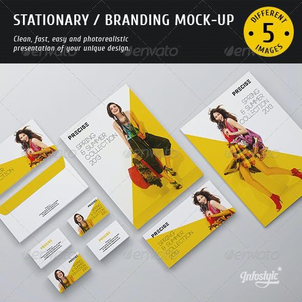 Stationary / Branding Mock-up