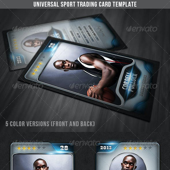 Universal Sport Trading Card