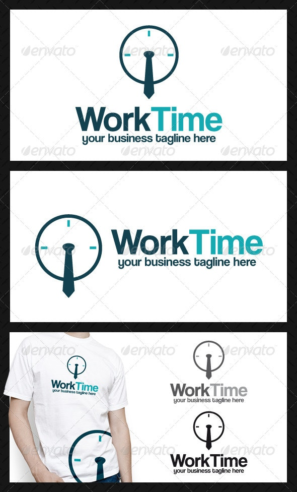 Worktime Logo - Objects Logo Templates