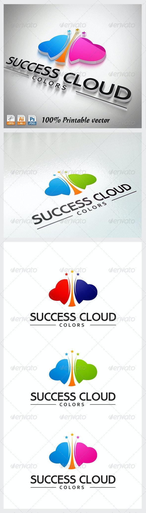 Success Cloud Logo - Abstract Logo Templates