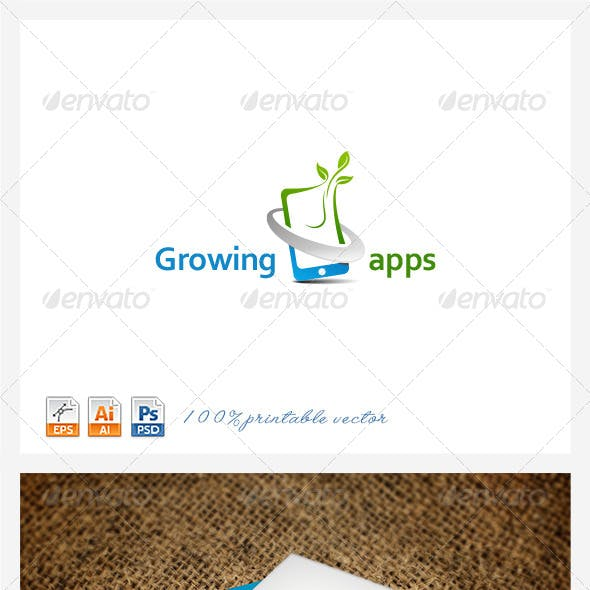Growing Apps logo