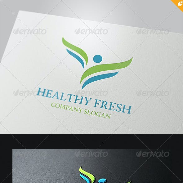 Healthy Fresh Logo