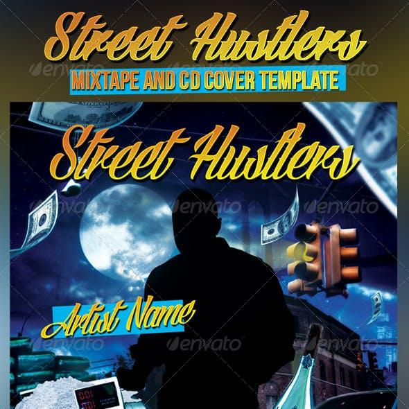 Street Hustlers Mixtape/CD Template