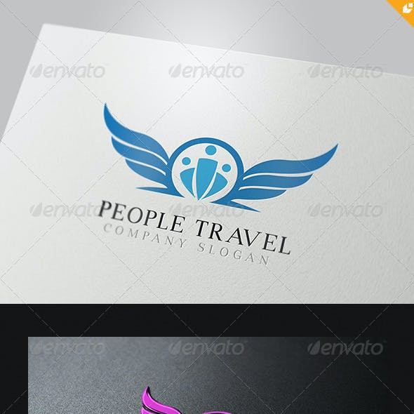 People Travel Logo