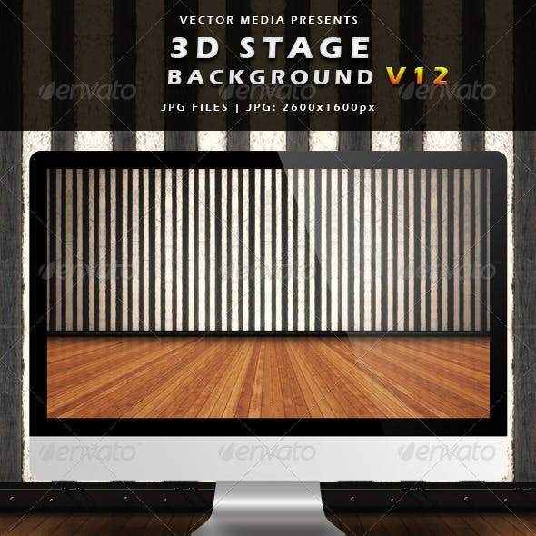 3D Stage Background - Vol.12