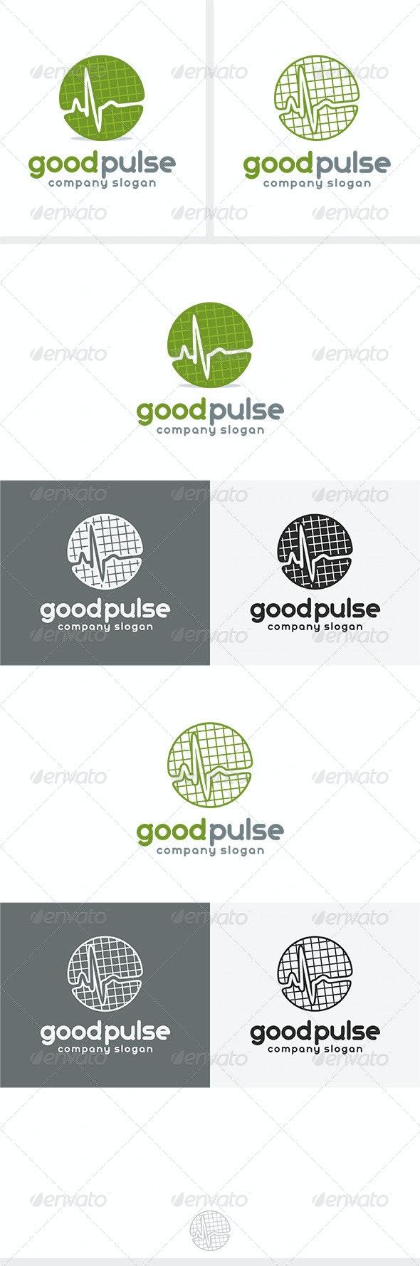 Good Pulse Logo By Kapacyko