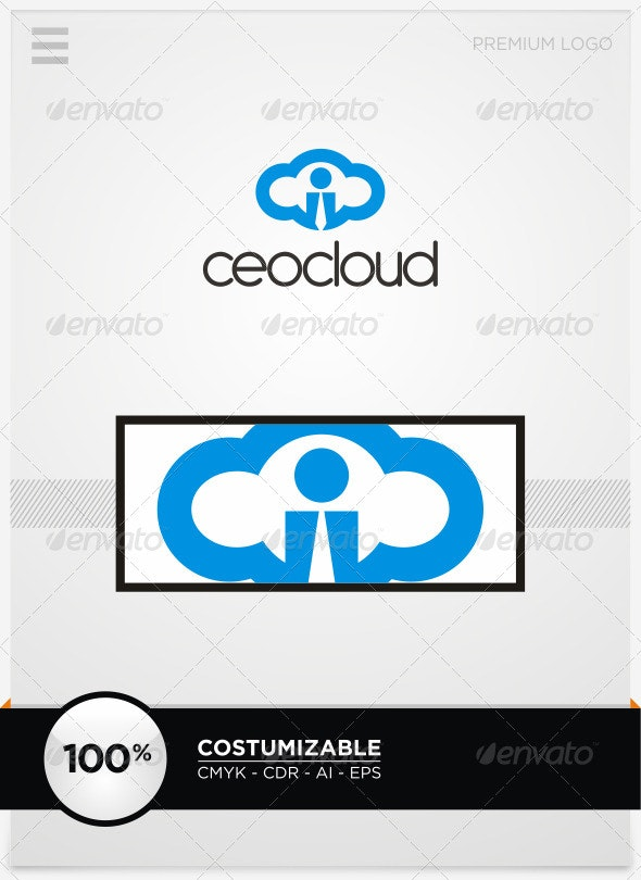 CEO Cloud Logo Template - Humans Logo Templates