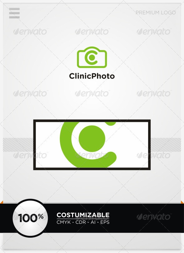 Clinic Photo and C Letter Logo - Letters Logo Templates
