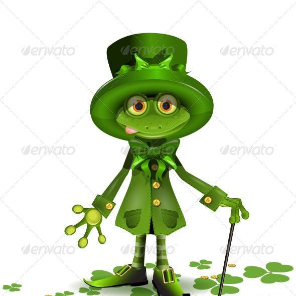 Saint Patrick's Frog