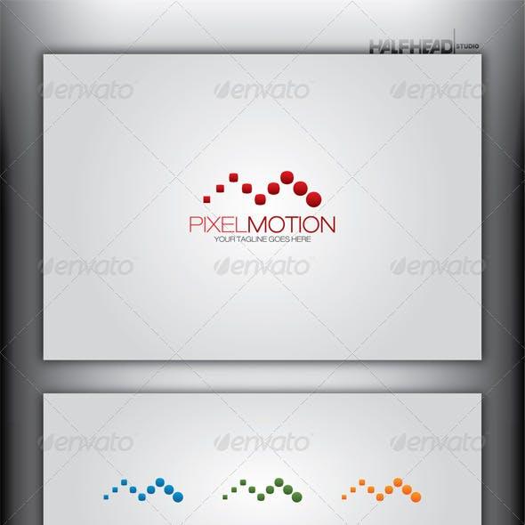 PIXEL MOTION Logo Template
