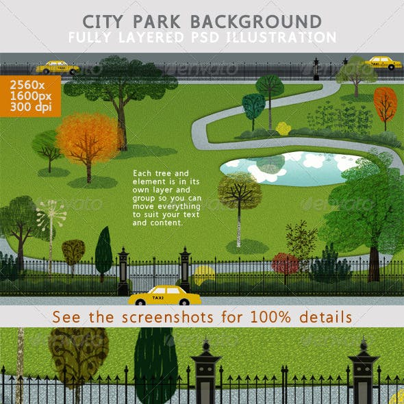 City Park Backgound