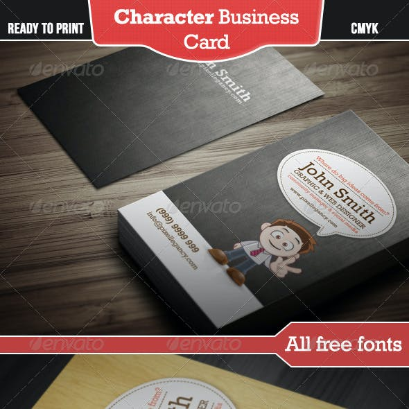 Character Business Card