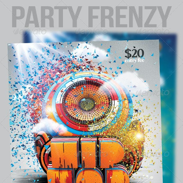 Hip Hop Party Frenzy