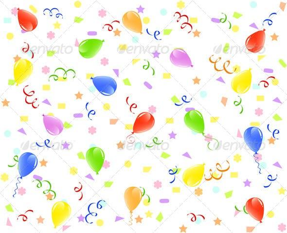 Birthday Background By Trinochka
