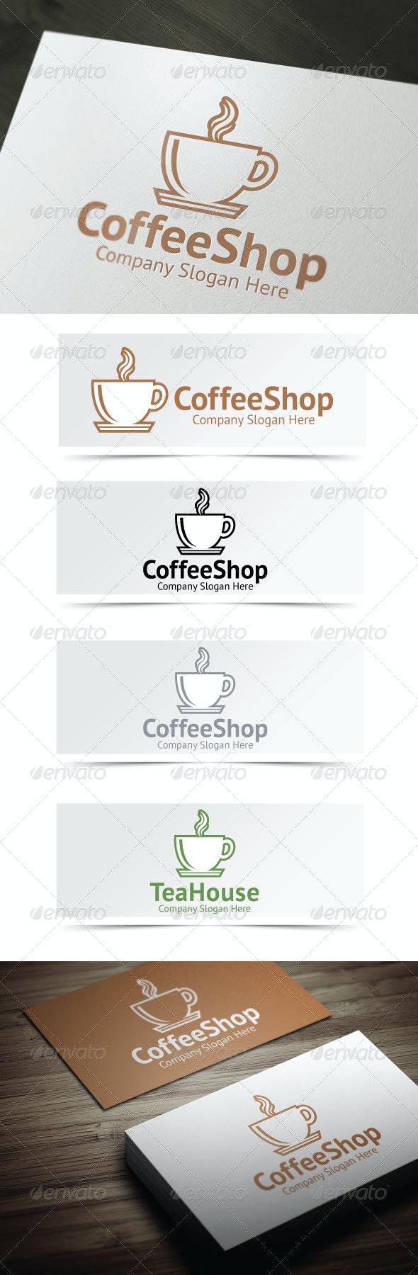 Coffee Shop Logo - Food Logo Templates