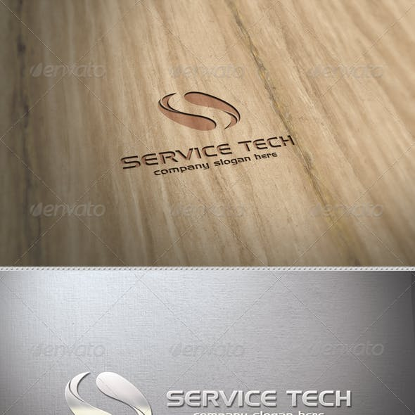 Service Tech Logo Template