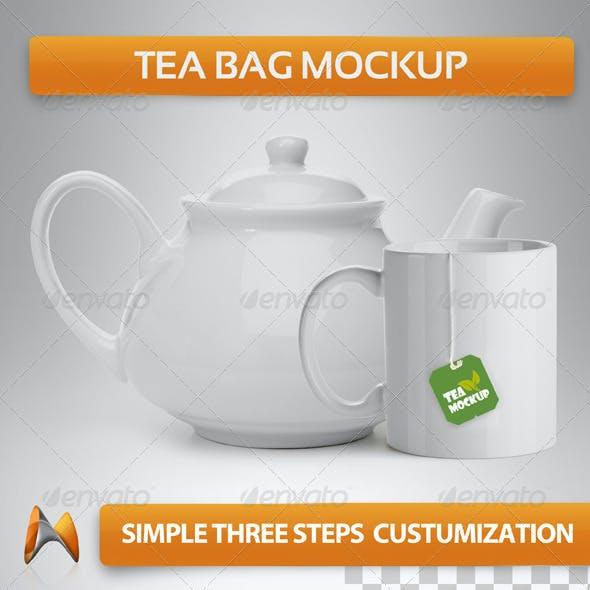 Tea Bag Mockup