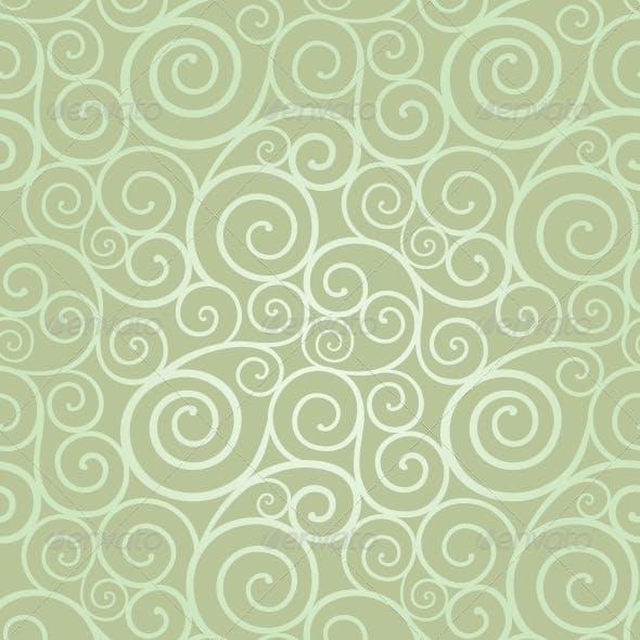 Elegant Swirl Seamless Pattern