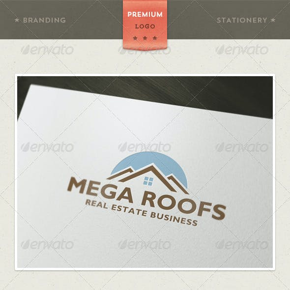 Mega Roofs - Real Estate and Architecture + Branding / Identity