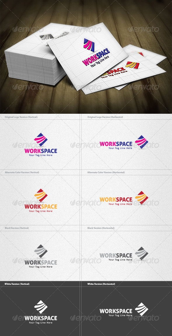 Workspace Logo - Vector Abstract