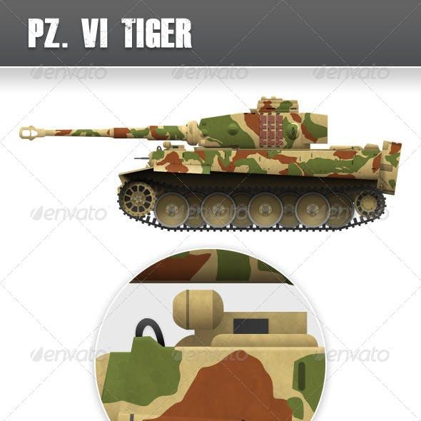 World War 2 Tank, Tiger