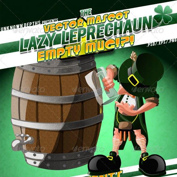 Lazy Leprechaun - Empty Mug!?! Mascot